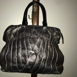 Valentino Madison Pintucked shopper bag